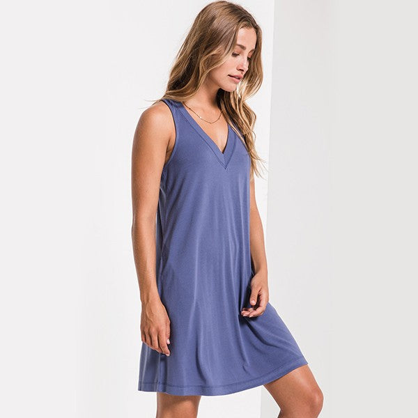 Z Supply ZD191597 The City Tank Dress