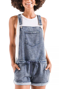 Z Supply Knit Denim Shortalls ZS191712