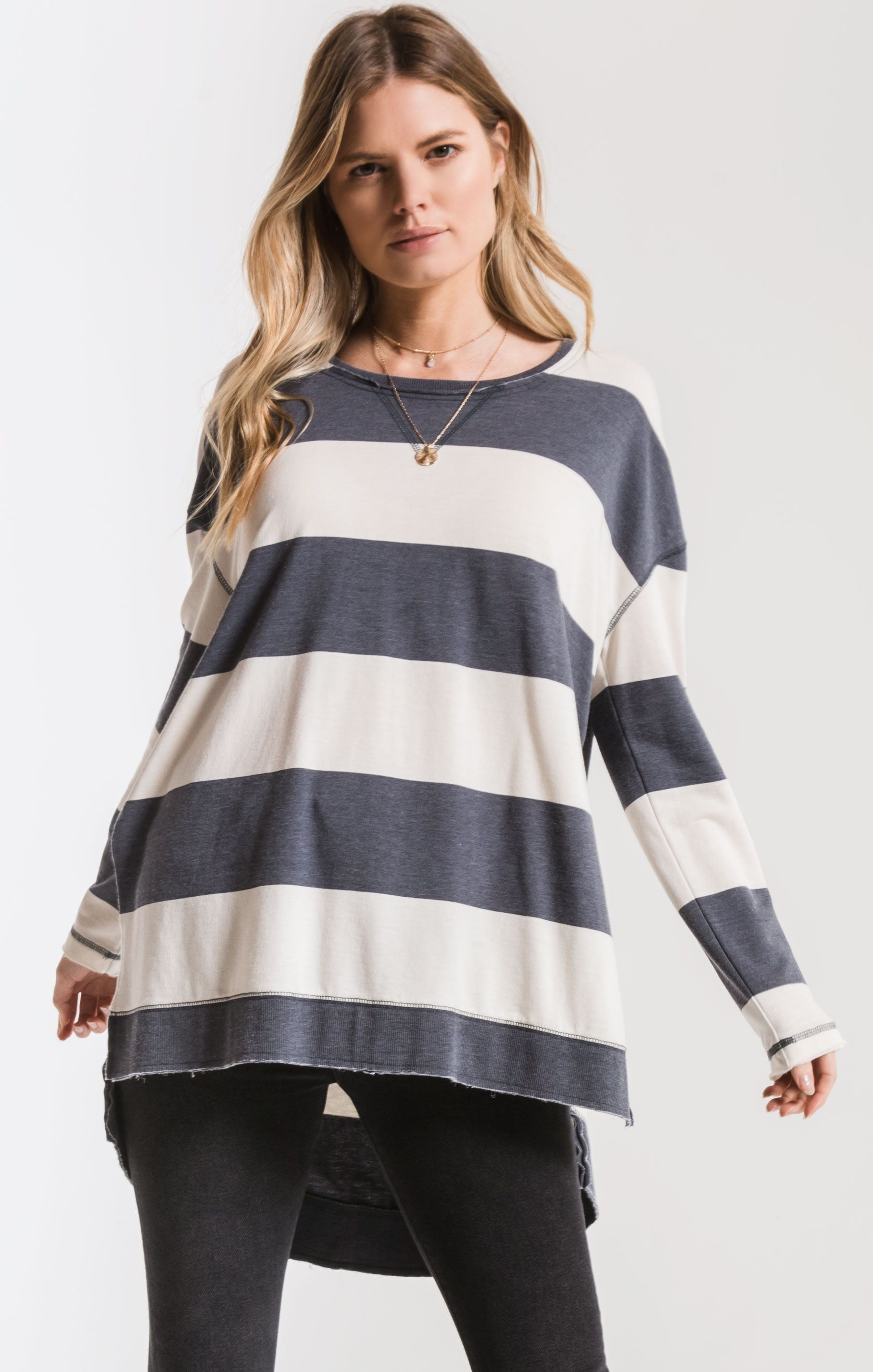 ZSUPPLY Rugby Stripe L/S Tee