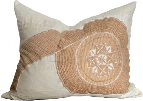African Peach Pillow
