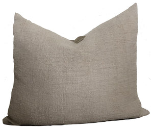 Chalk Linen Pillow