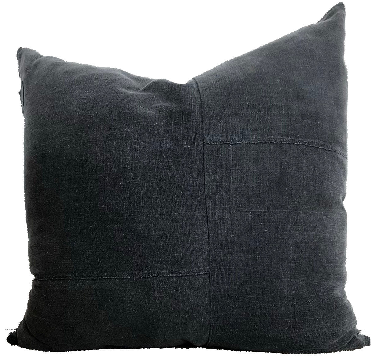 Dahlia Black Pillow