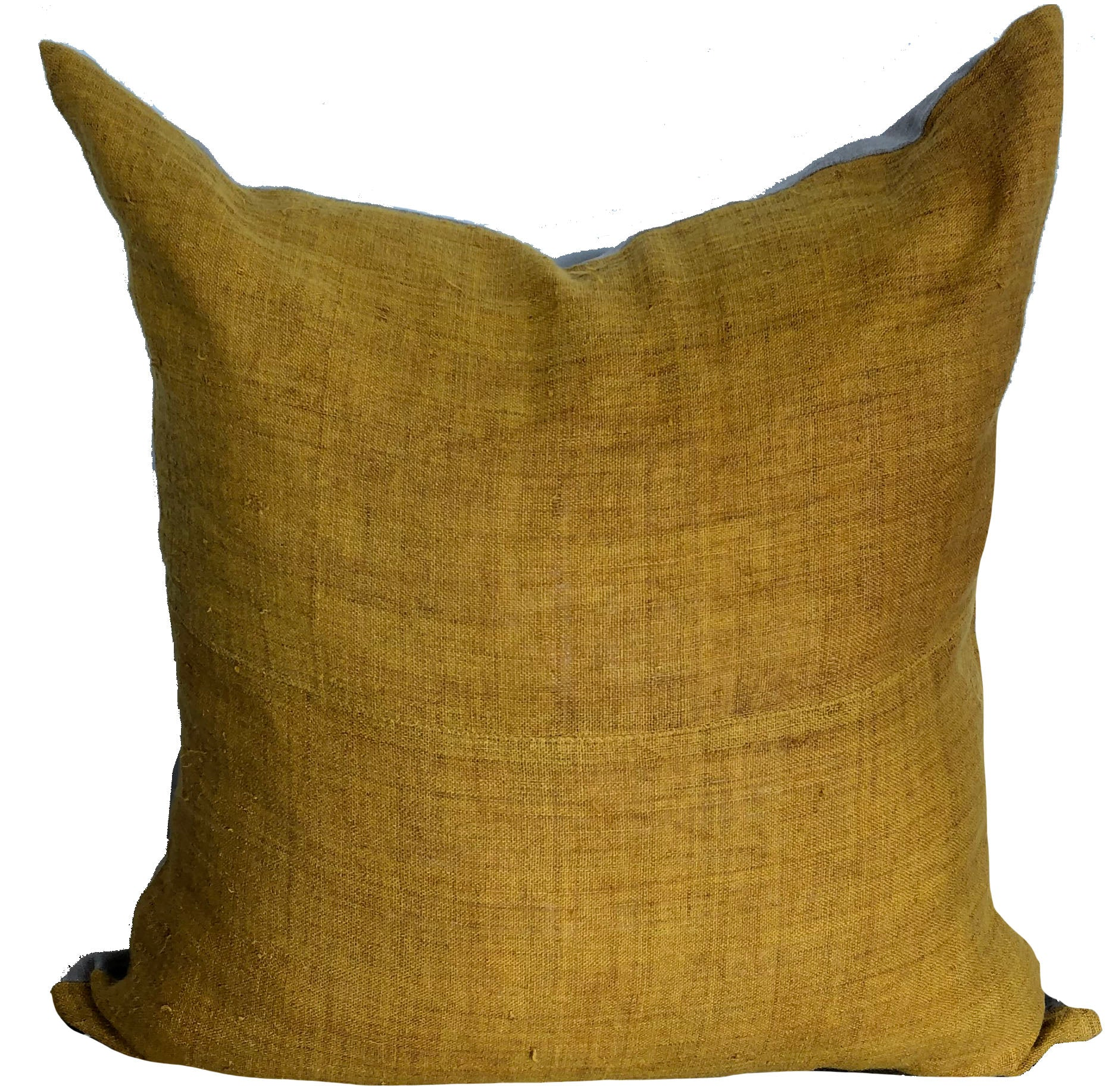 Gold Hemp Pillow