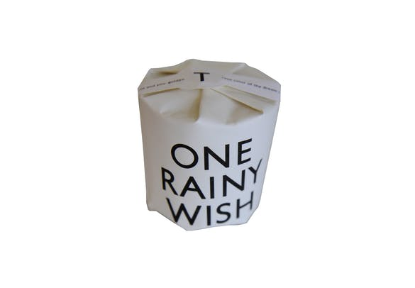 Tatine Candle- One Rainy Wish