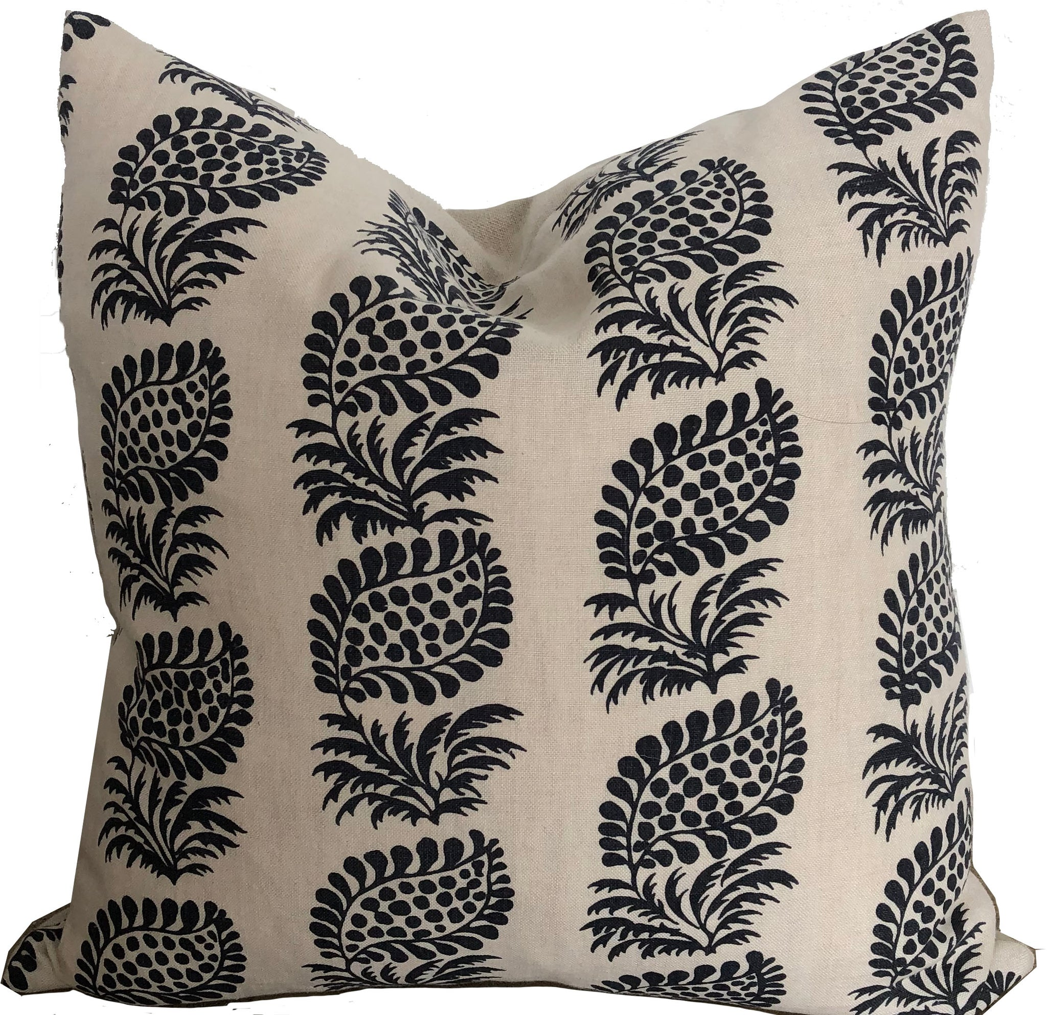 Indigo Paisly Pillow