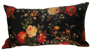 Liberty of London Black Pillow