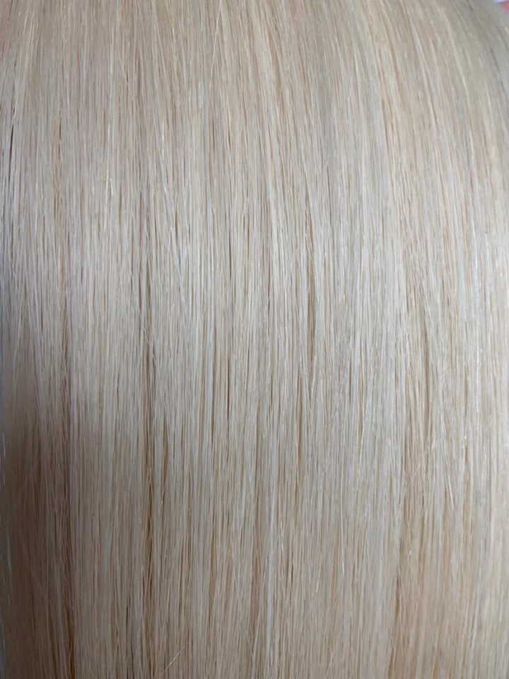 DAS Clip In Hair Extensions Color Pure Blonde