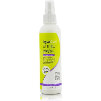 DevaCurl Set It Free Moisture Lock Finish spray