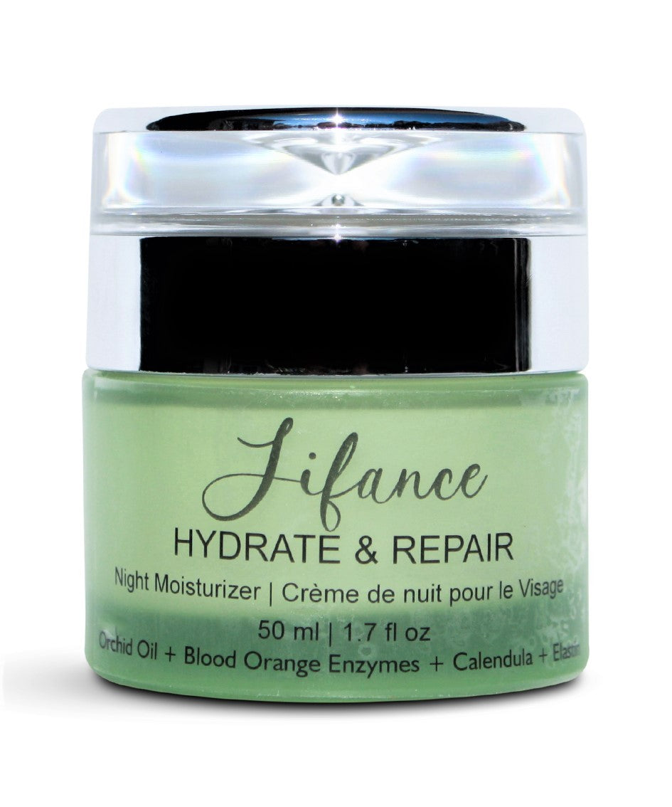 HYDRATE & REPAIR Elastin and Orchid Oil Anti-Aging NIGHT MOISTURIZER