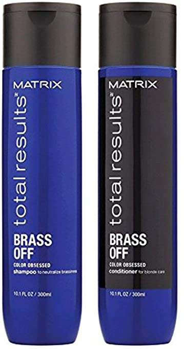 Matrix Brass Off Shampoo&Conditioner