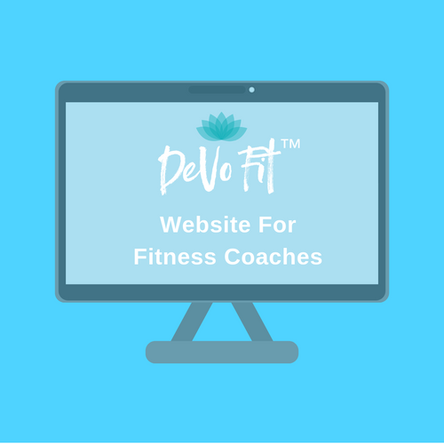 DeVo Fit ™ Website for Fitness Coaches