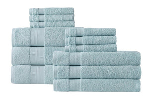 Chloe Turkish Cotton Towel Set of 12 (8 Sets)