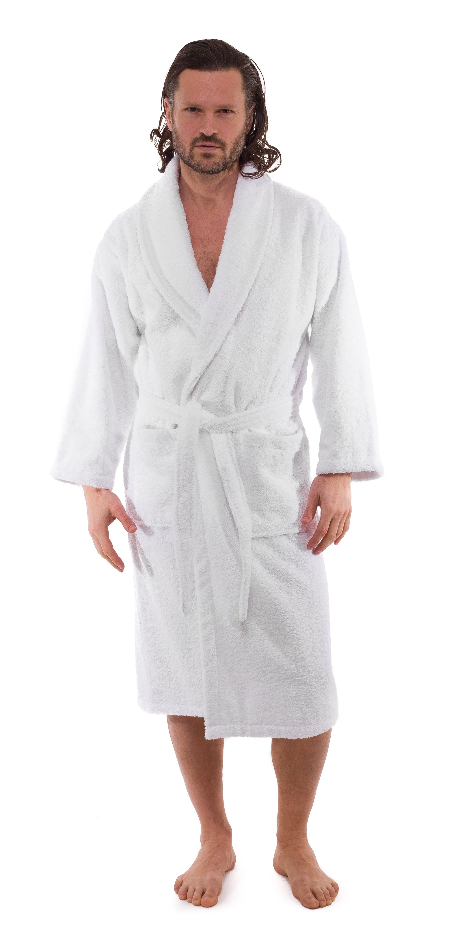 Cambridge Shawl Terry Turkish Cotton Bathrobe - 10 Pieces