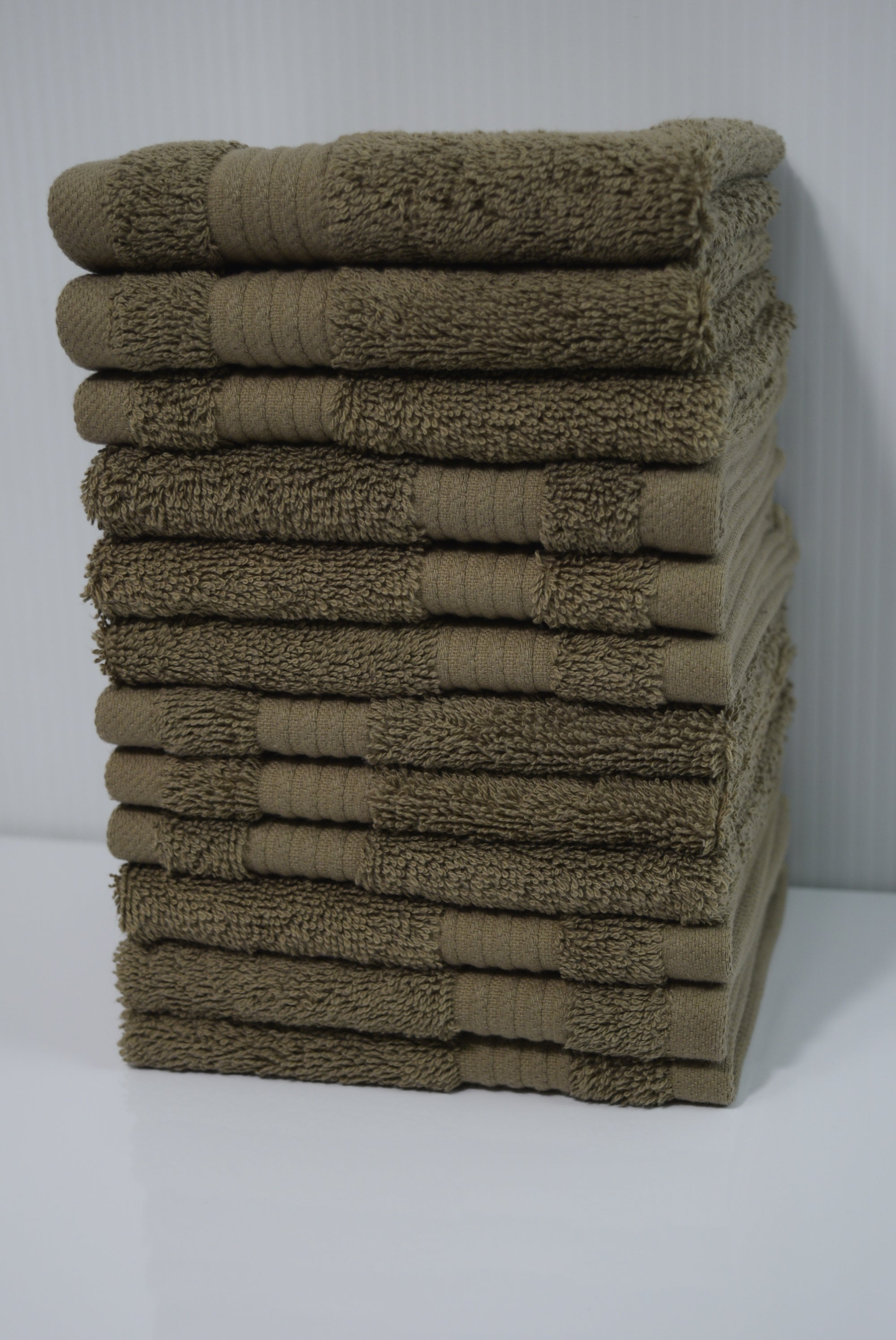 Amadeus Turkish Cotton Washcloths - 312 Pieces