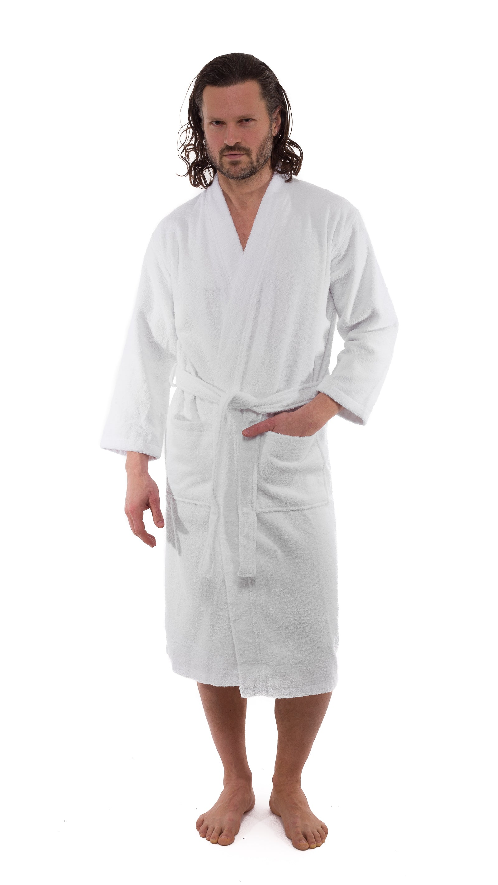 Kimono Terry Turkish Cotton Bathrobe - 10 Pieces