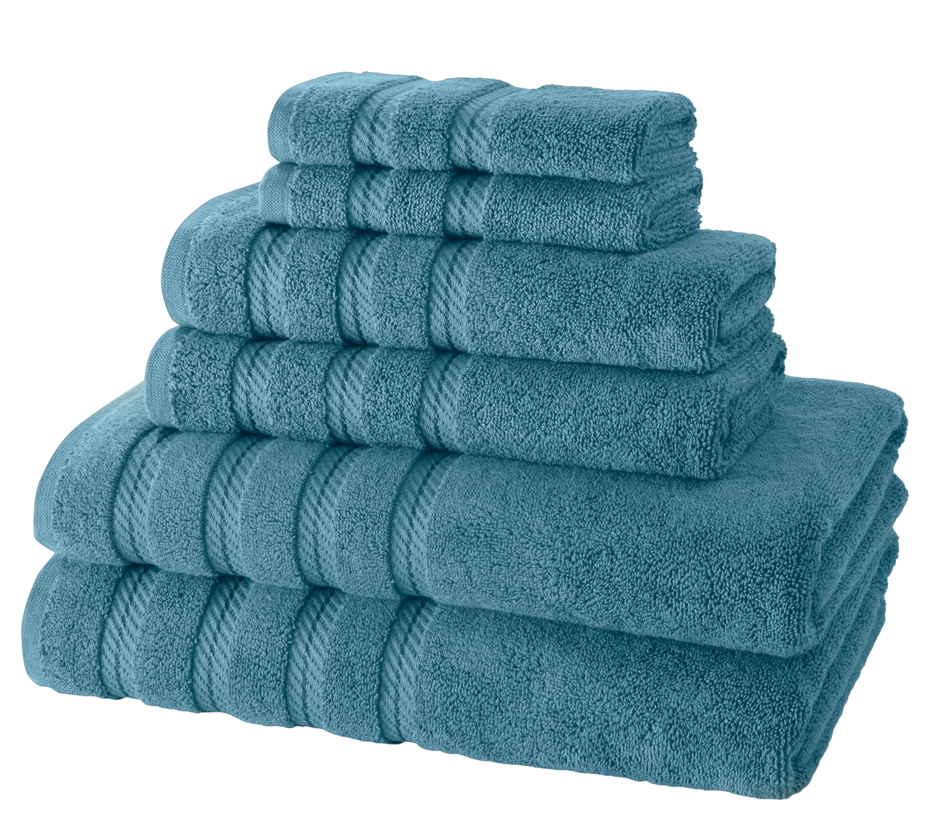 Antalya Turkish Cotton Towel Set of 6 (10 Sets) Case Pack