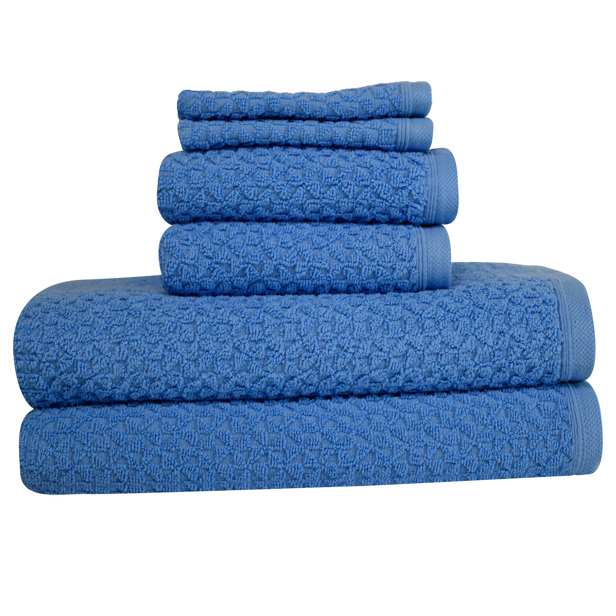 Hardwick Jacquard Turkish Cotton Towel Set of 6 (10 Sets)