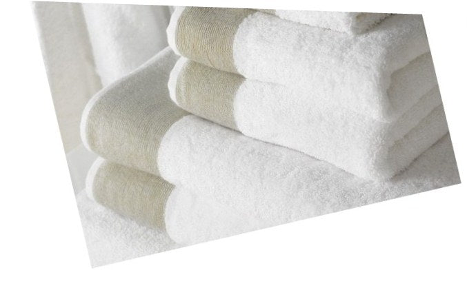 Carniege Turkish Cotton Towel Set of 6 (10 Sets)