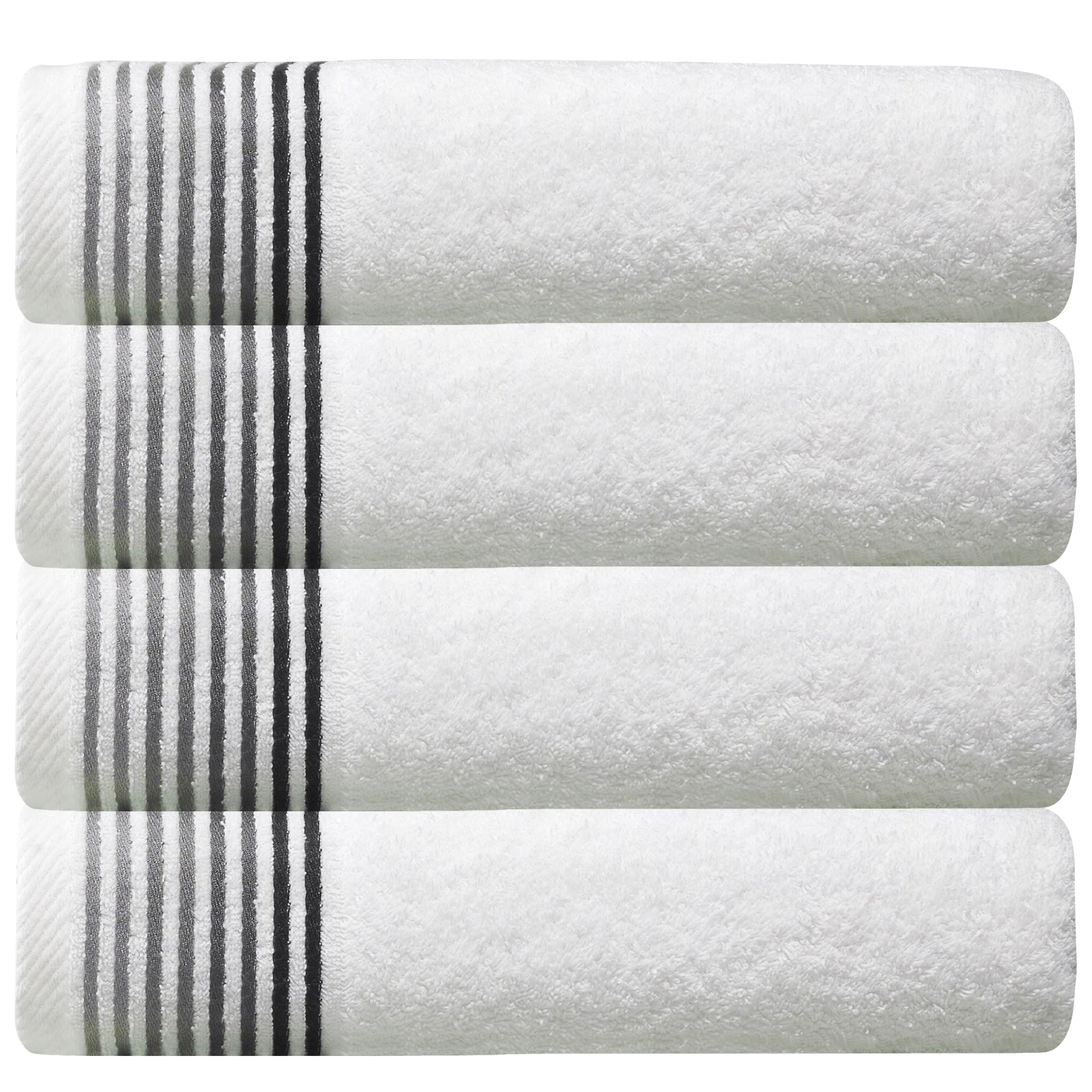 Dimora Turkish Cotton Bath Towels - 40 Pieces