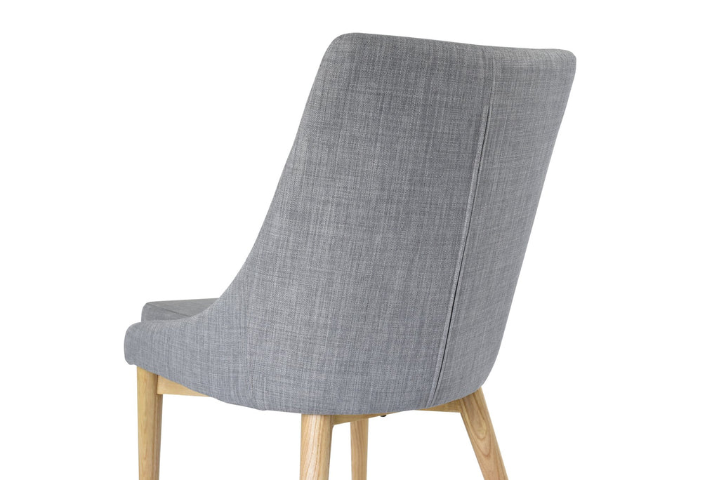 Jessica Dining Chair, Light Grey (Set of 2)