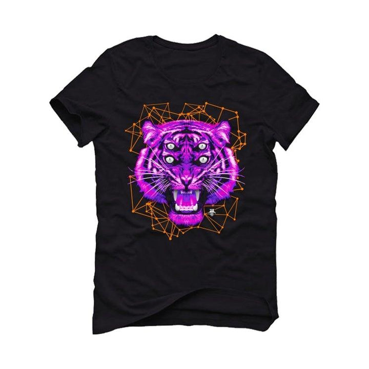 Air Jordan 4 Retro Rush Violet Black T-Shirt (Four Eyes)