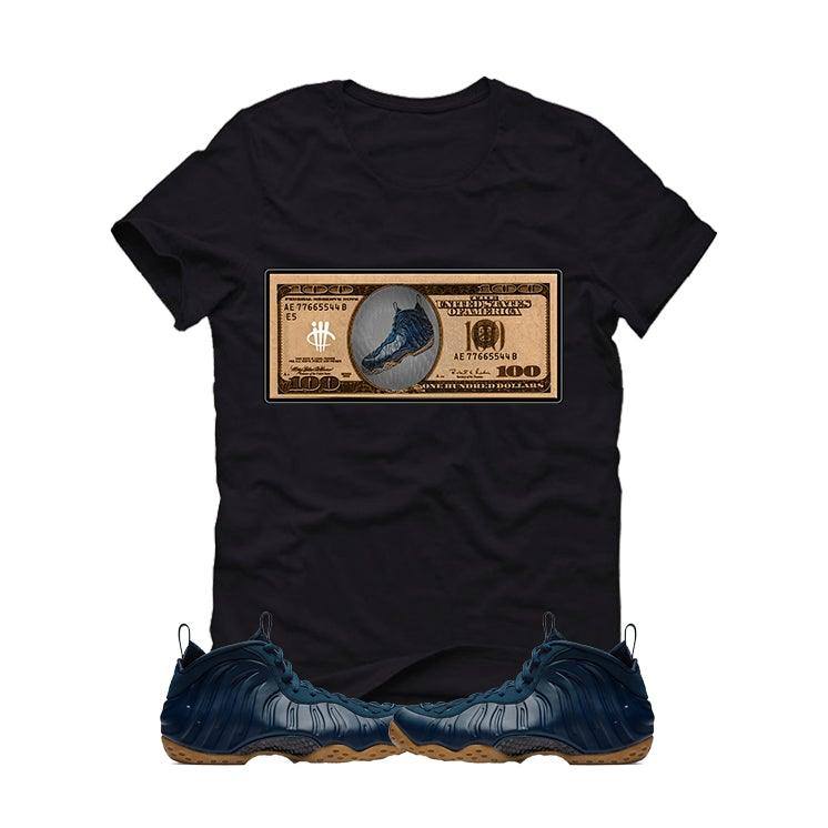 "watch 9abd6 f5206 NIKE AIR FOAMPOSITE ONE ""MIDNIGHT NAVY"" Black T (foam bill)"
