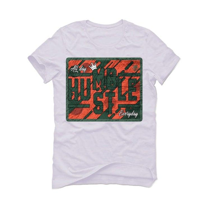 Nike Air Barrage Mid Orange Green White T-Shirt (ALWAYS HUSTLE)