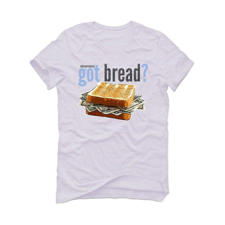 Air Jordan 3 UNC White T-Shirt (Got bread?)