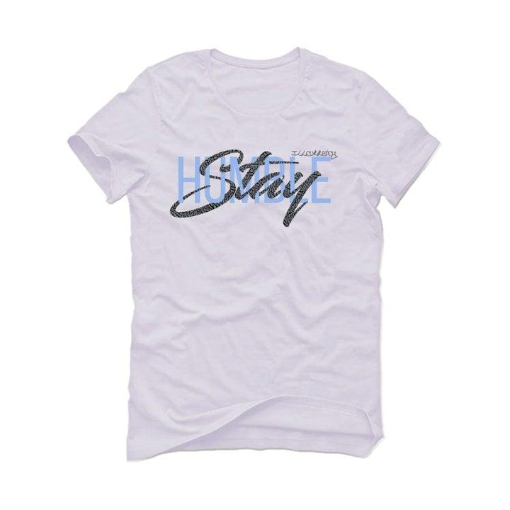 Air Jordan 3 UNC White T-Shirt (Stay Humble)
