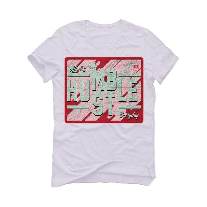 "THE AIR JORDAN 7 ""HARE 2.0"" White T-Shirt (ALWAYS HUSTLE)"
