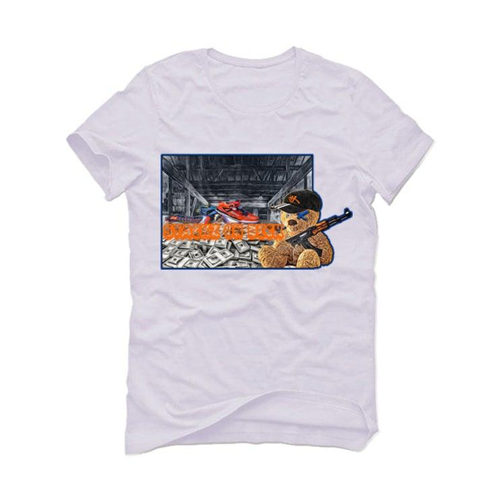 "AIR JORDAN 3 ""KNICKS"" White T-Shirt (stackz on deck)"