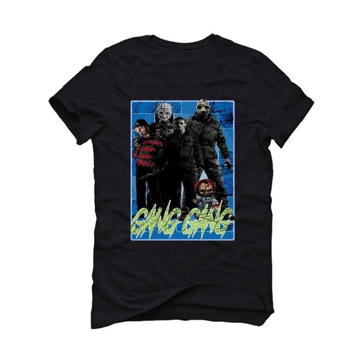 Nike LeBron 17 'Photo Blue' Black T-Shirt (GANG GANG)