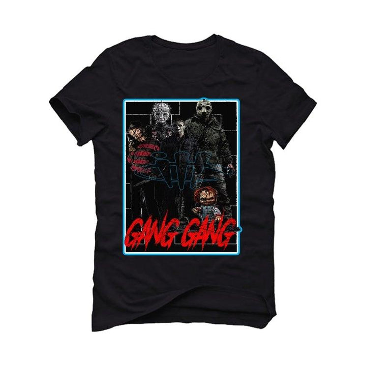 "The Air Jordan 1 ""UNC To CHI"" 2020 Black T-Shirt (GANG GANG)"
