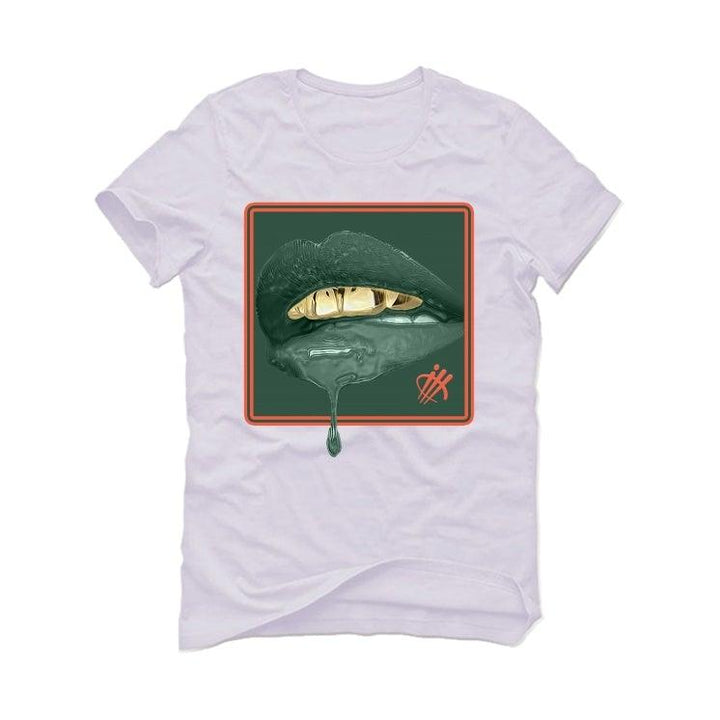 Nike Air Barrage Mid Orange Green White T-Shirt (LIPSTICK)