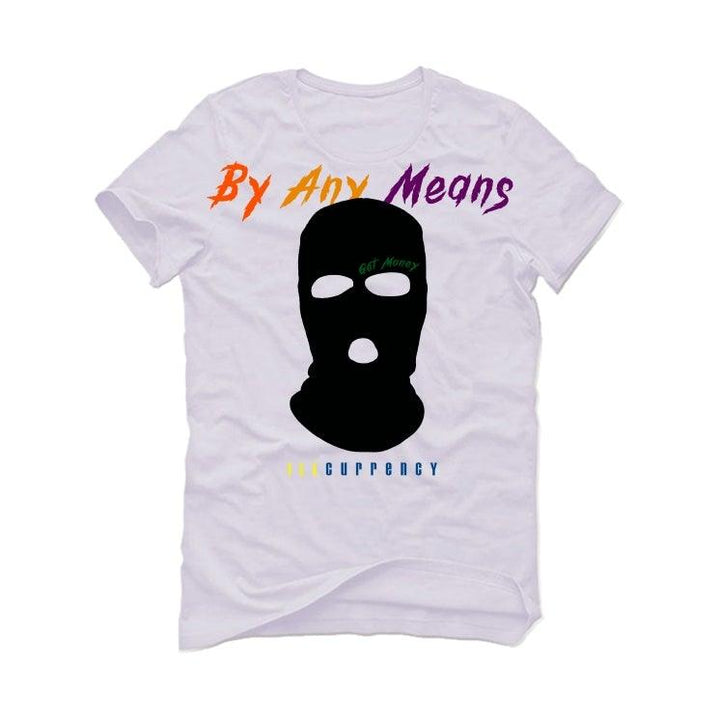 Air Jordan 13 (PLAYGROUND) White T-Shirt (By any means)