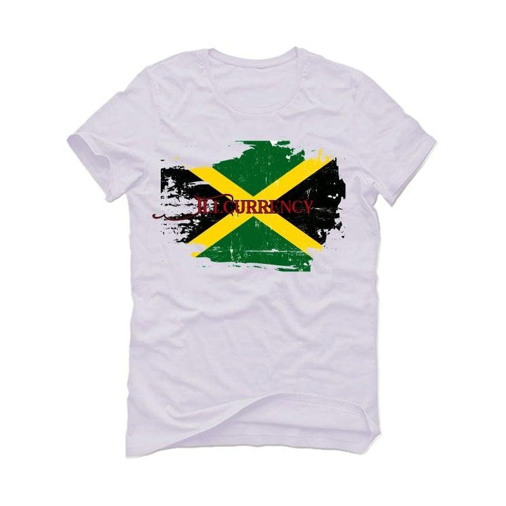 Air Jordan 4 Rasta White T-Shirt (Jamaica)