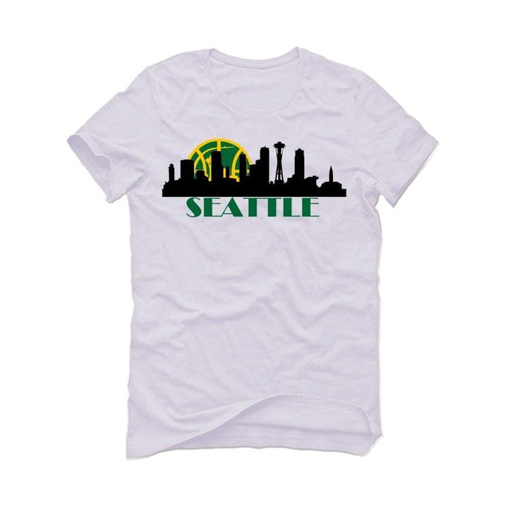 "Air Jordan 10 ""Seattle"" Retro 2019 White T-Shirt (Seattle)"