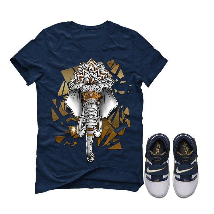 on sale 14770 b3afe Nike Zoom Lebron Soldier 1 25 Straight Navy Blue T (ELEPHANT)