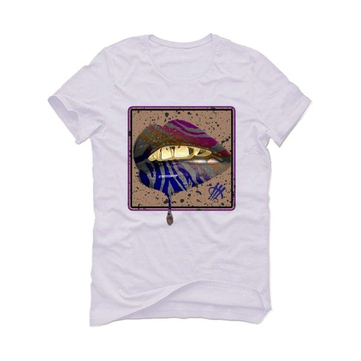 Air Jordan 4 Retro Rush Violet White T-Shirt (LIPSTICK)