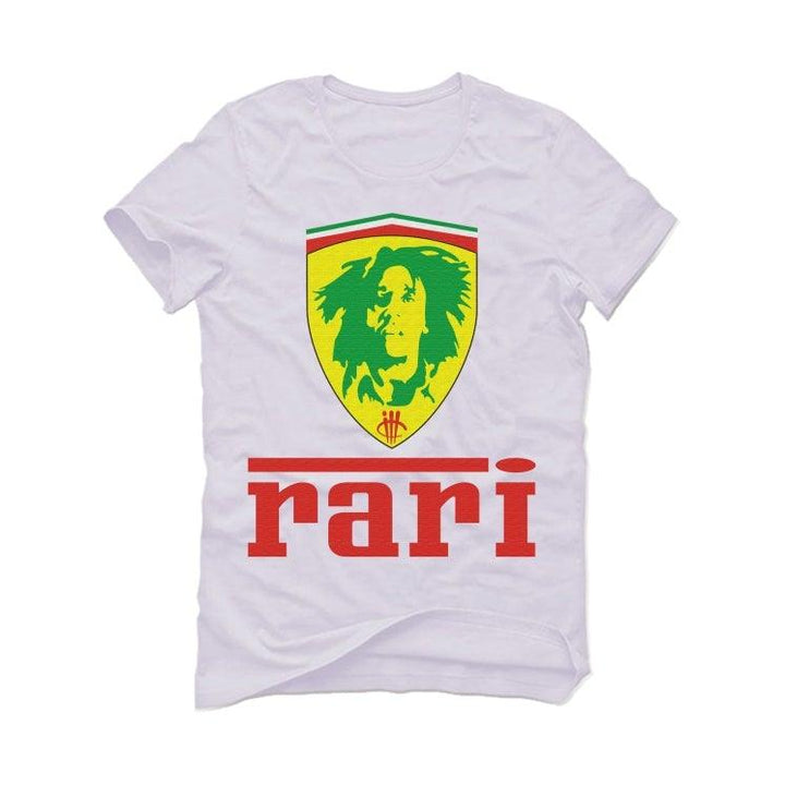 Air Jordan 4 Rasta White T-Shirt (RARI RARE)