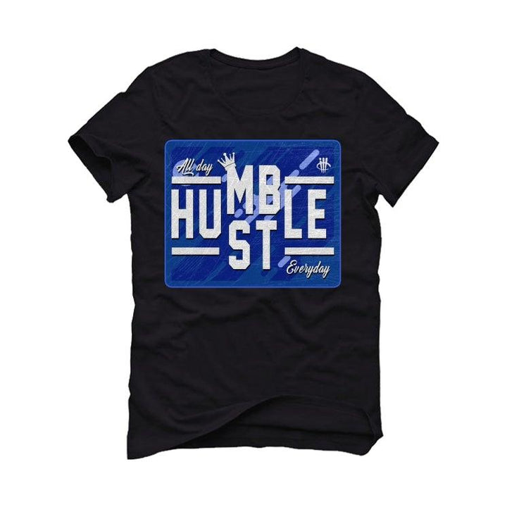 League of Legends x Air Jordan 1 Zoom Air Black T-Shirt (always hustle)