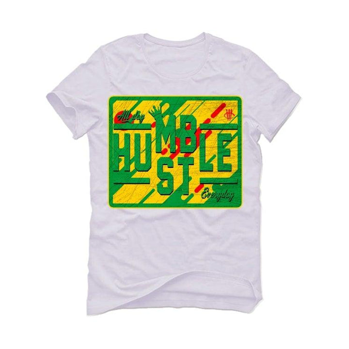 Air Jordan 4 Rasta White T-Shirt (always hustler)