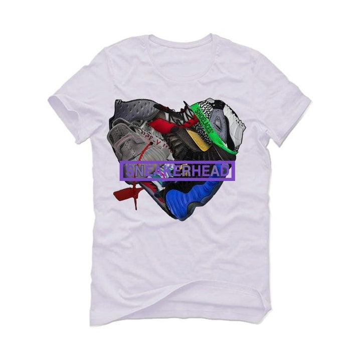 "Air Jordan 14 ""Doernbecher"" White T-Shirt (sneaker heart)"