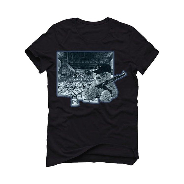 "Air Jordan 6 ""Washed Denim"" Black T-Shirt (stacks on deck)"