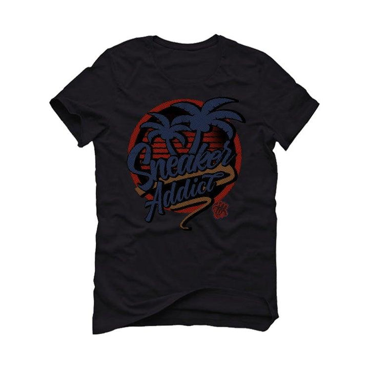 "Nike Air Foamposite Pro ""USA"" Black T-Shirt (sneaker addict)"