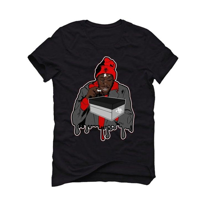 "THE AIR JORDAN 11 BRED""2020 Black T-Shirt (UNCENSORED)"