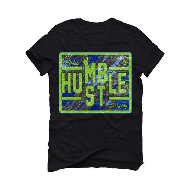 Nike LeBron 17 'Photo Blue' Black T-Shirt (always hustle)