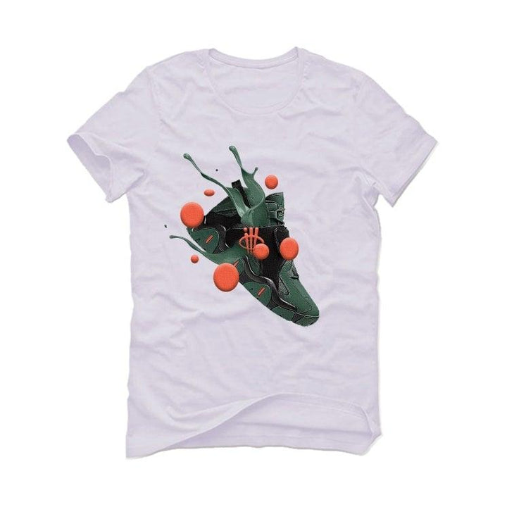 Nike Air Barrage Mid Orange Green White T-Shirt (SPLASH)