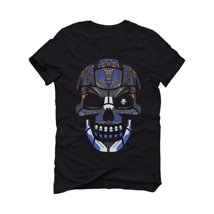 Air Jordan 4 Retro Rush Violet Black T-Shirt (Skull Head)