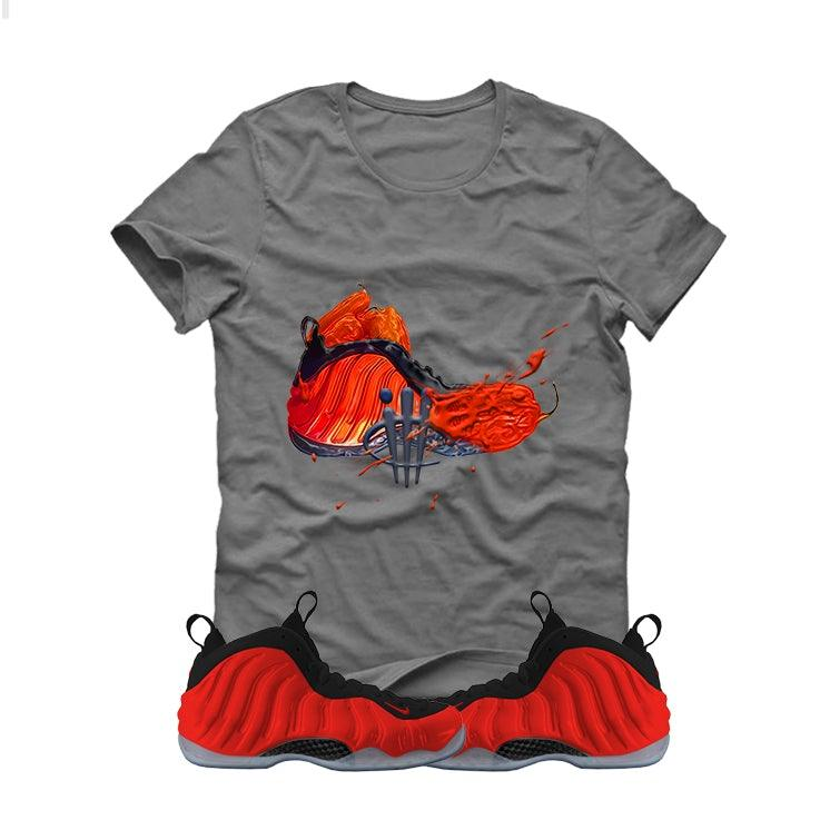 separation shoes 1c7f4 fe5b4 Nike Air Foamposite One Habanero Red Grey T (Habanero Spice)